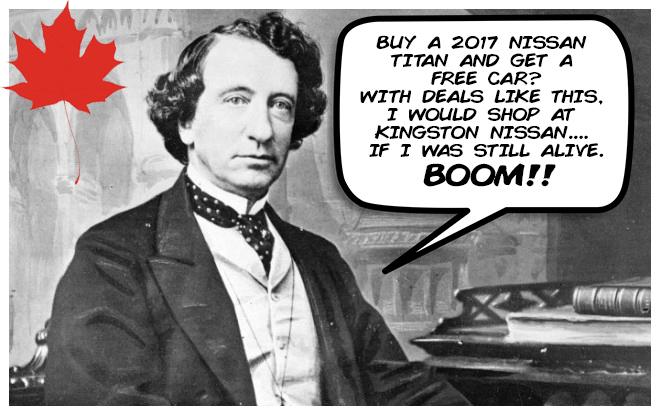 Canada Birthday Sale - Kingston Nissan